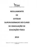 ESTAGIO EDUCAÇÃO FÍSICA – 2017