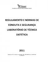 LABORATÓRIO TECNICA DIETÉTICA