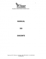 MANUAL DO DOCENTE