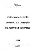 POLITICA AQUISIÇÃO ACERVO BIBLIOGRÁFICO-1