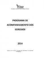 POLITICA DE ACOMPANHAMENTO DOS EGRESSOS