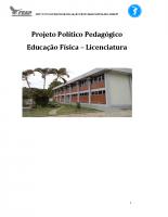 PPC Educação Física – 2017