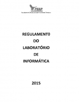 REGULAMENTO LABORATORIO INFORMATICA