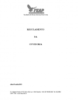 REGULAMENTO OUVIDORIA- FEAP