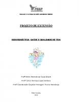 PROJETO DE EXTENSÃO hidroginástica