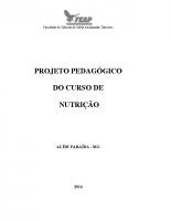 PROJETO PEDAGÓGICO capa