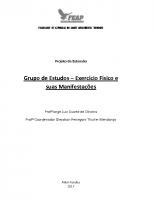 Projeto de Extensão Grupo de Estudos