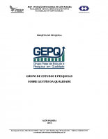 Grupo de Estudos sobre Gestão da Qualidade – GEPQ
