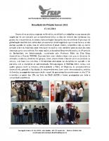 INOVAR Relatório 2011