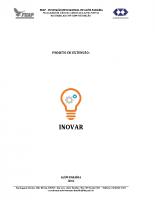 Projeto de Extensão – INOVAR