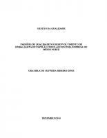 ADM TCC 2014 Graziela Oliveira – PADRÕES DE QUALIDADE NO DESENVOLVIMENTO DE EMBALAGENS DE PAPELÃO ONDULADO EM UMA EMPRESA DE MÉDIO PORTE