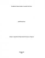 ADM TCC 2016 Joseli Senra – A função e a importância do Departamento Pessoal para as Empresas